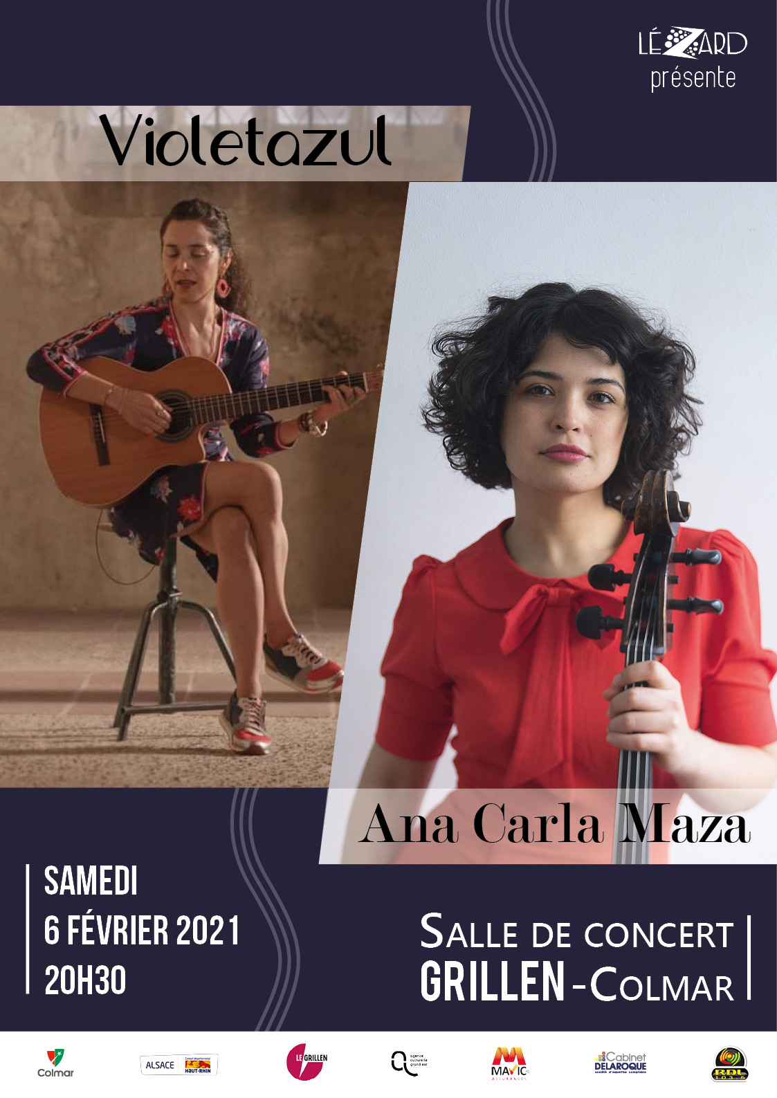 concert Violetazul et Ana Carla Maza