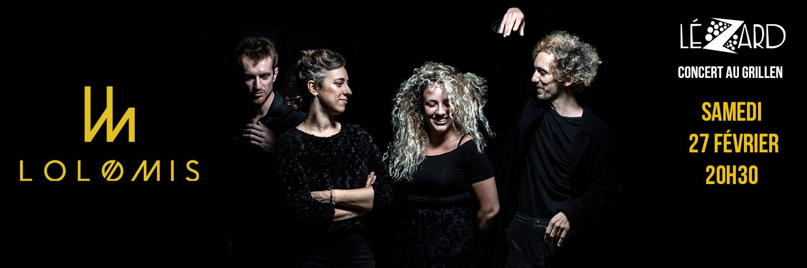 concert Lolomis au Grillen Colmar