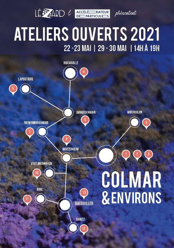 Ateliers Ouverts 2021 Colmar et environs
